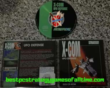 X-COM UFO Defense Original Disc