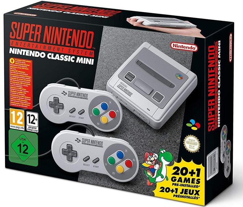 SNES Nintendo Classic Mini In Its Original Box