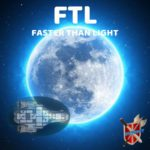 FTL Custom Cover Image With The Kestrel In Front Of A Planet